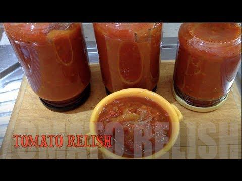 Spicy Tomato Relish cheekyricho  tutorial