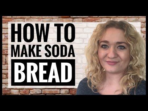 How To Make Soda Bread - Easy Bread Recipe - Zero Waste Bread - Vegan Soda Bread