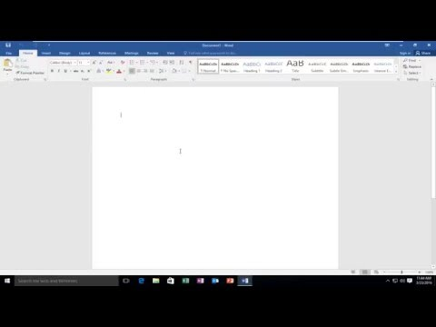 How To Hide Or Show Ribbon Bar In Microsoft Word
