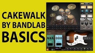 Cakewalk by Bandlab - Included ProChannel Plugins Quick Demo