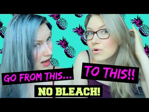 HOW TO REMOVE toner/ blue & gray from your hair | NO BLEACH OR DYE! |