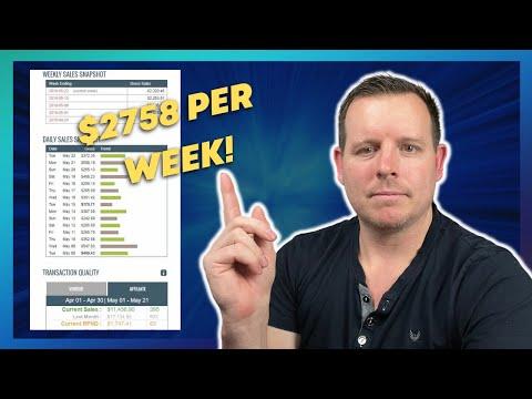 $2200+ PER WEEK - Clickbank Affiliate Marketing Case Study (Passive Income)
