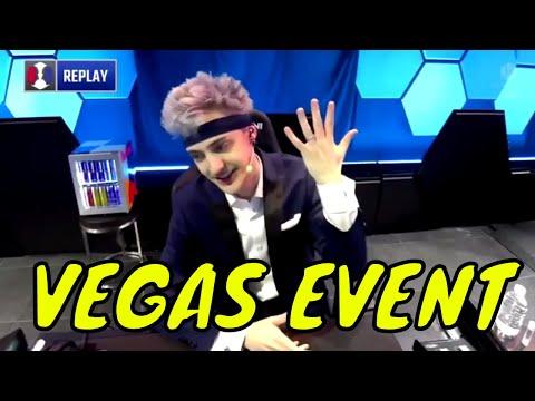 (HIGHLIGHTS) *NINJA ALL KILLS, DEATHS & WINS!!!* Ninja Fortnite Vegas Event 2K18 - BEST MOMENTS HD