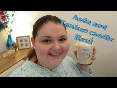 Asda and Yankee candle haul