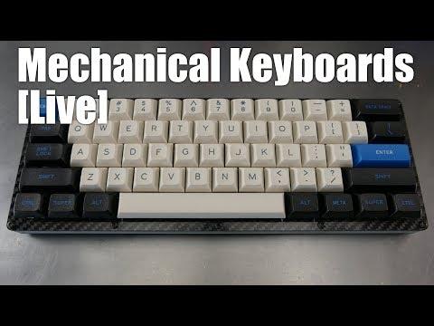 [Livestream] Mechanical Keyboards Live! - JB guest hosts with Pok3r RGB Zealios switch swap