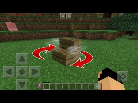 MCPE 1.2 How To Make A Realistic  Spinning Chair | Command Block Creation
