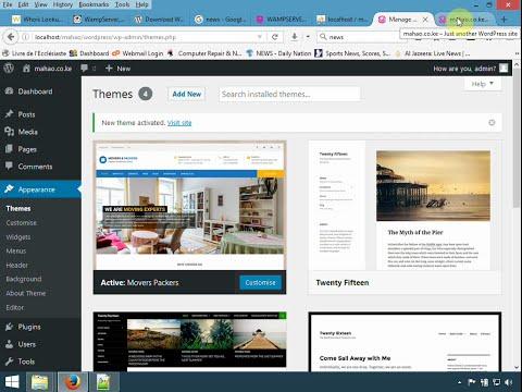 Web design Kenya - How to build a simple wordpress website