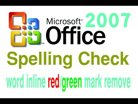Spelling Check MS Office-2007