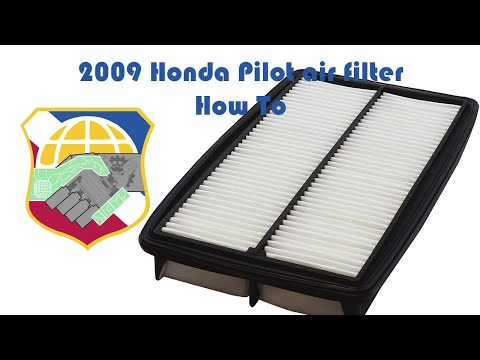 How to Change Your Air Filter - 2009 to 2013 Honda Pilot ridgeline odyssey