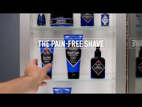 How to get a  Pain-Free Shave with Jack Black