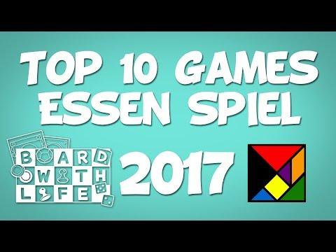 My Top 10 Most Anticipated Games at Essen Spiel 2017