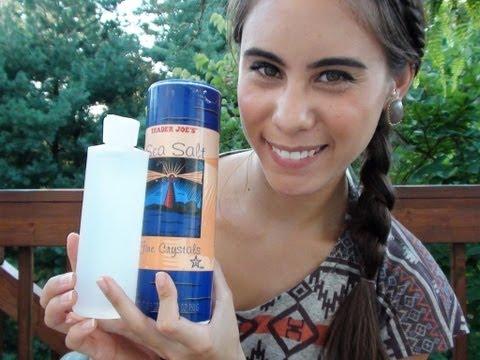DIY: Sea Salt Toner for Acne + Oily Prone Skin