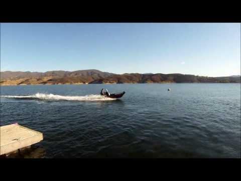 Aluminum Jet Ski Boat Build pictures and test runs