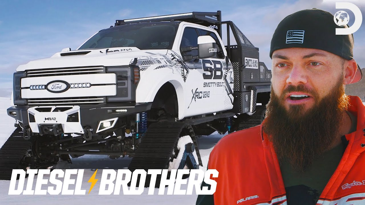 Heavy D's 6x6 With Tracks for SEMA | Diesel Brothers