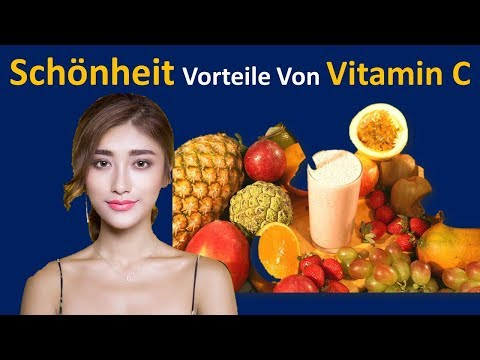 Schönheit Nutzen von Vitamin C | Befeuchtet die Haut & heilt Schaden, Denn von Sun