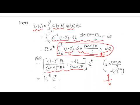 Diff Eqn: Nonhomogeneous  heat conduction problem example 2