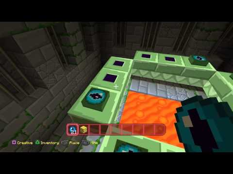 Minecraft PS4 -  Where To Find The Ender Portal And Ender Dragon