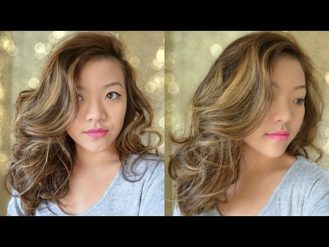 Big Wavy Curls for Medium Length Hair - Bombshell Curls