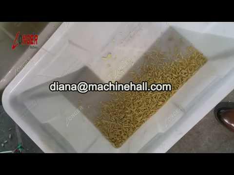 Peanut Almond Pistachio Nuts Strips Cutting Machine