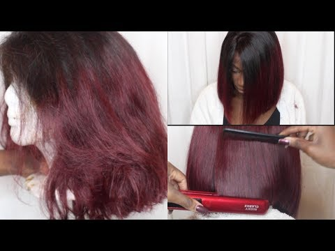 HOW TO MAKE YOUR OLD WIG LOOK BRAND NEW !!! WIG REVAMP - WIG REVIVAL | THE FANTASY WIG