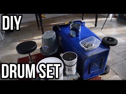 How to Make Diy Garden Shed Trash Bin Drum Kit