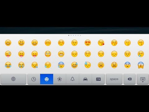 How to get Emoji Keyboard on iOS device