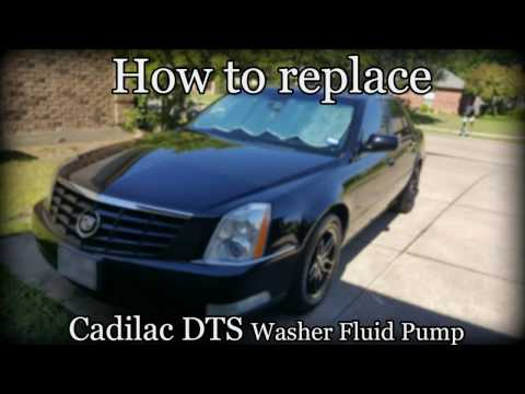 2006-2011 Cadillac DTS - How to replace washer fluid pump
