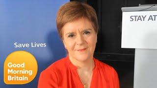 EXCLUSIVE: Nicola Sturgeon Reveals Scotland's Lockdown Exit Plan | Good Morning Britain