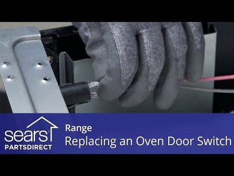 Replacing a Range Oven Door Switch