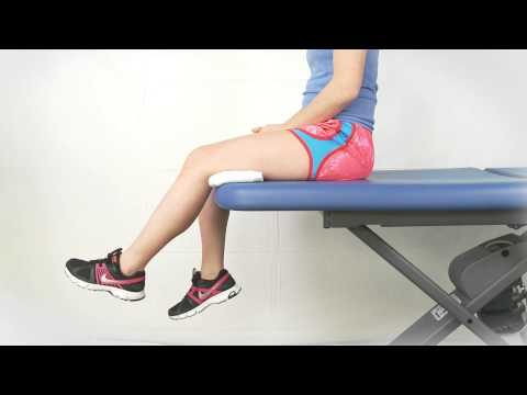 Seated Knee Extension Long Arc Quads