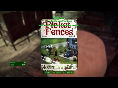 Fallout 4 - Picket Fences Modern Lawn Care