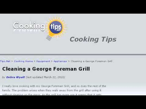 Tricks To Cleaning A George Foreman Grill