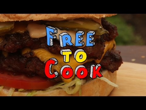 How to Cook a Perfect Double Cheese Burger