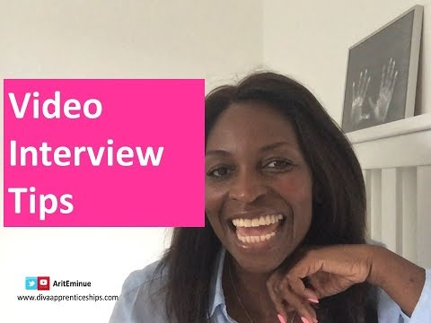 Video Interviewing Tips