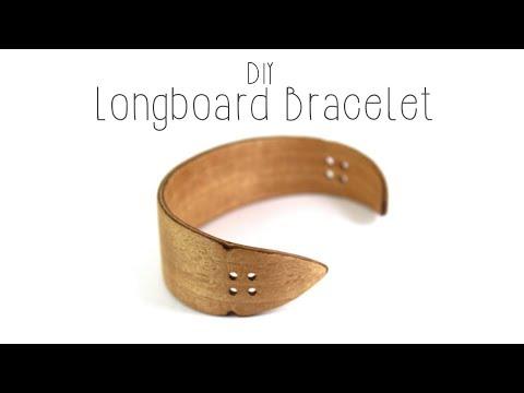 Making A Longboard Bracelet