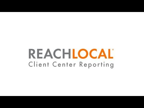 Viewing Advertising Reports in the ReachLocal Client Center