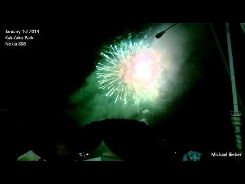 2014 New Years Fireworks