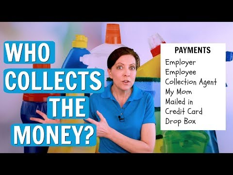 Who Collects The Money for House Cleaning?