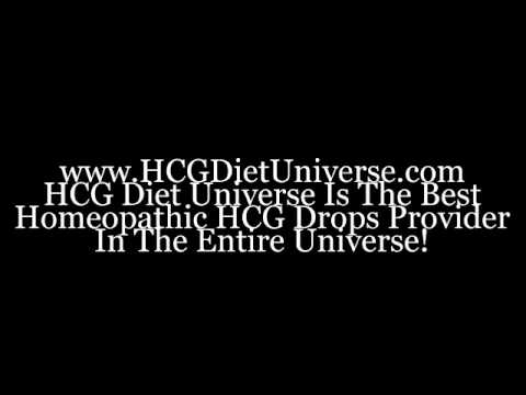 The Best Online HCG Drops Diet in The Universe!