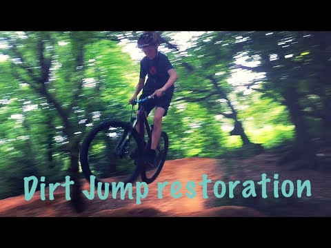 RESTORING DIRT JUMPS : GoPro Hero 5