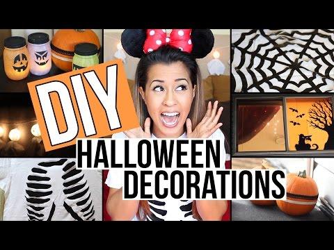 DIY Halloween Decorations! 6 Easy + Affordable Ideas | Ariel Hamilton