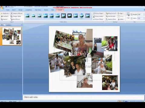 How to Make a Collage Using PowerPoint