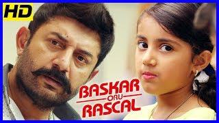 பாஸ்கர் ஒரு ராஸ்கல் | Arvind Swamy impressed with Baby Nainika | Master Raghavan | Soori