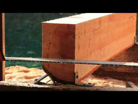 Small scale logging and sawmilling