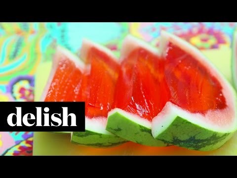 How To Make A Giant Watermell-o Shot | Delish