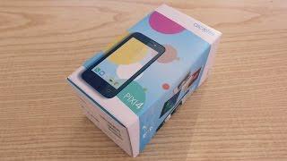 "Alcatel Pixi 4 (4"") - Unboxing [HD]"