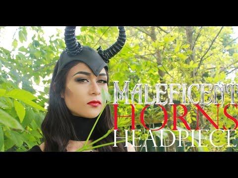 Halloween - Maleficent Horns Headpiece