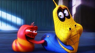 LARVA - SPIDER MAN LARVA | 2017 Cartoon | Cartoons For Children | Kids TV Shows Full Episodes
