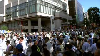 8月17日(日) 神輿渡御@千葉親子三代夏祭り2014