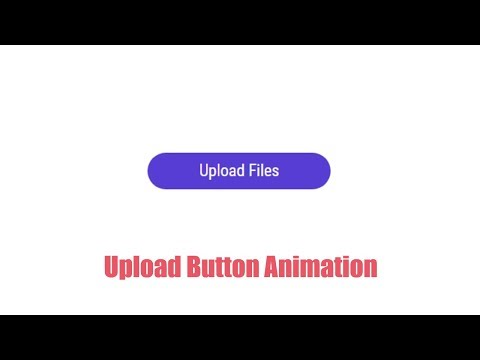 Animated Upload Button HTML/CSS/JavaScript